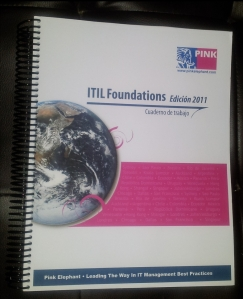 ITIL Workbook 2011 - Pink Elephant Oficial
